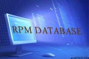 rebuild rpm database