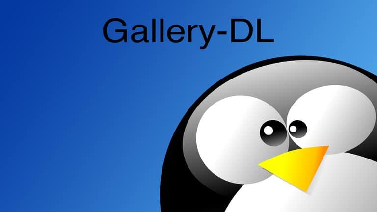 install gallery-dl