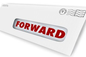 Set up mail forwarding